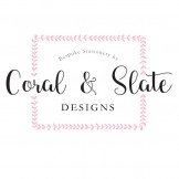 Coral & Slate